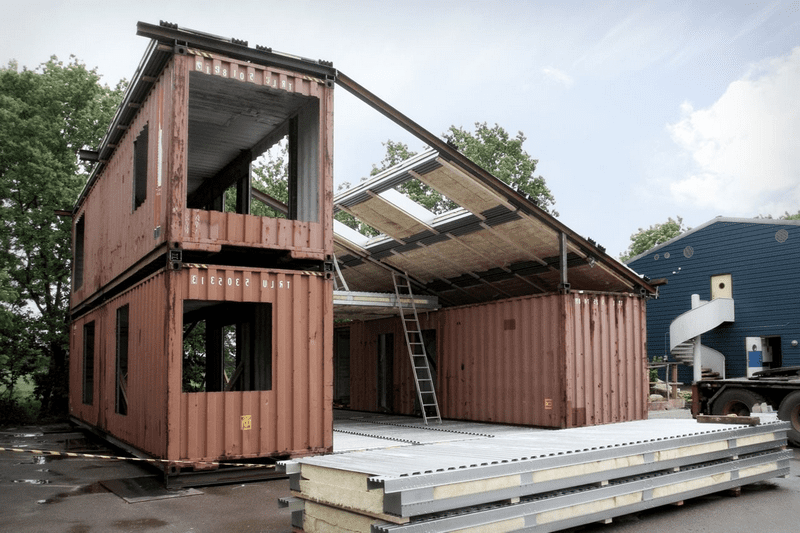 Amenagement conteneur maison yu74 jornalagora for Container maison legislation